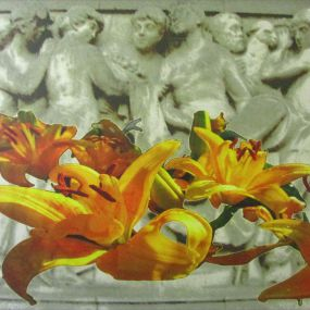 Lillies On Relief artwork