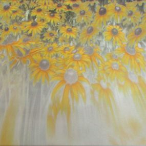 Black Eyed Susans artwork