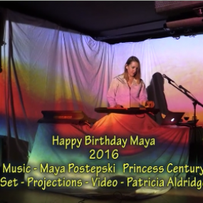 Maya Burdock Birthday artwork